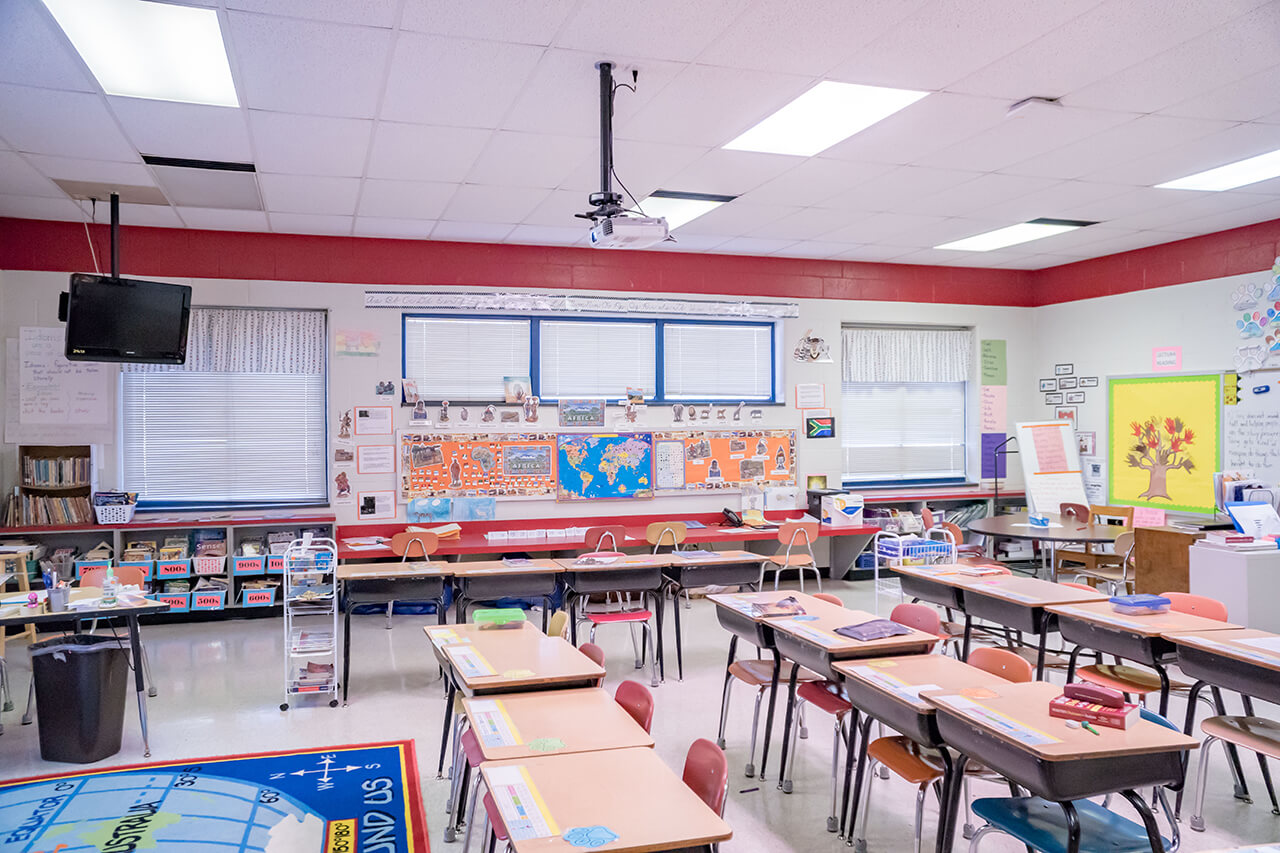 Alamance School System classroom