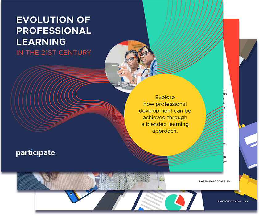 Evolution of professional learning e-book