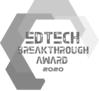 EdTech Breakthrough Award 2020 badge