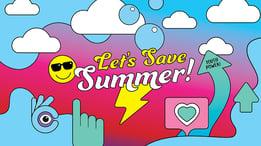 lets save summer banner