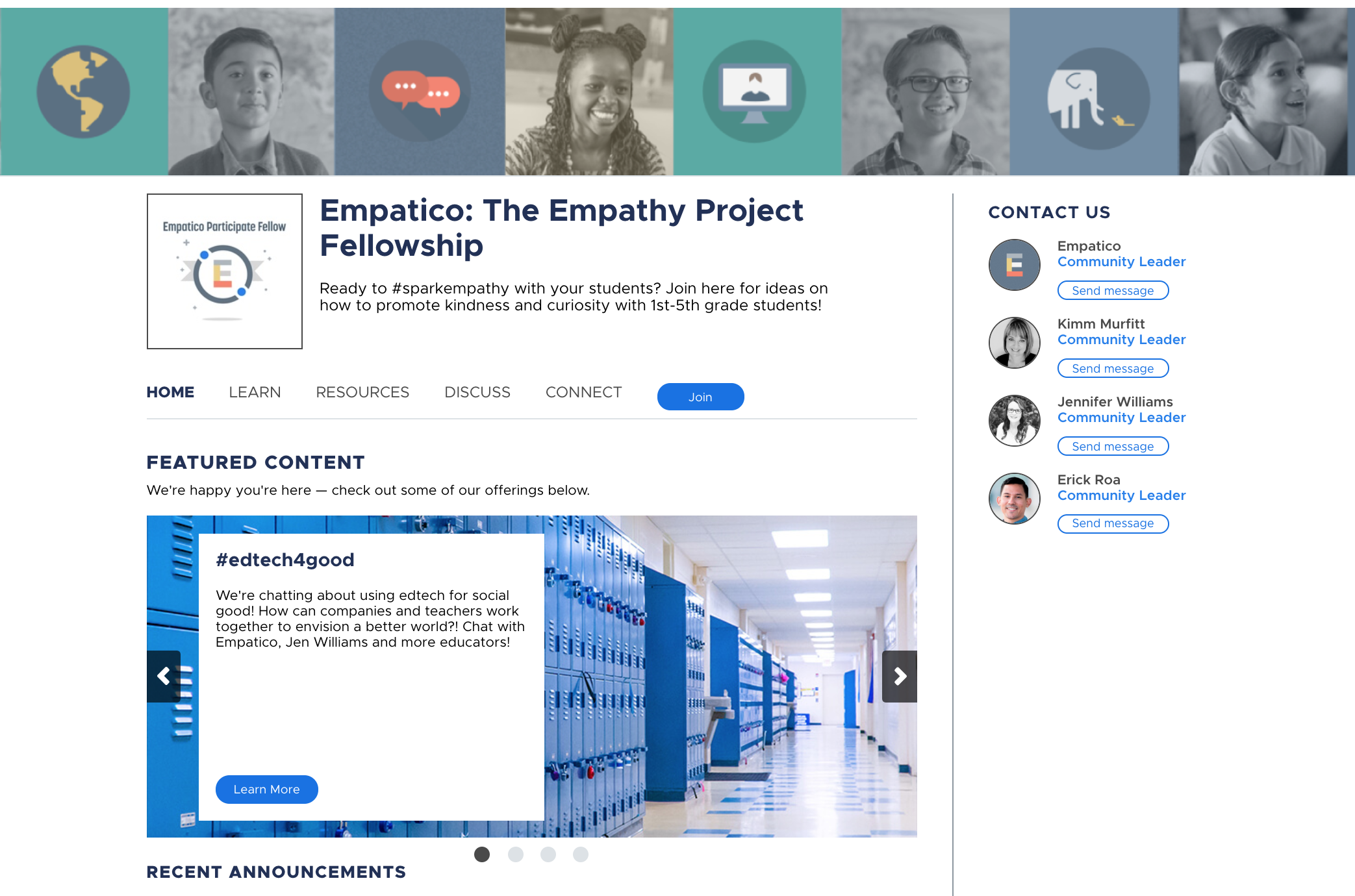 Empathy Project community