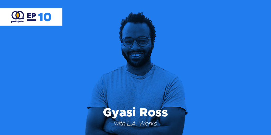 Gyasi Ross with L.A. Works