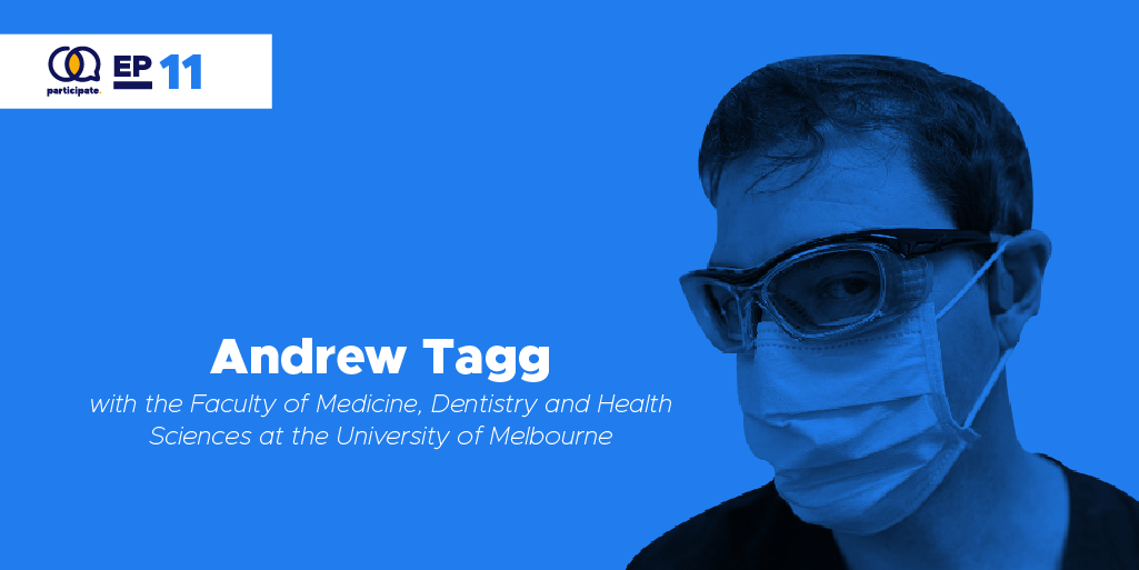 Andrew Tagg with the University of Melbourne